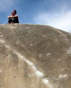 Rock Climbing Photo: After sending The Angler back in March 2012. It wa...