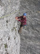 Rock Climbing Photo: Still on 4th pitch, but this one is very photogeni...