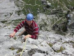 Rock Climbing Photo: Remains of First World War Lazarett lie immediatel...