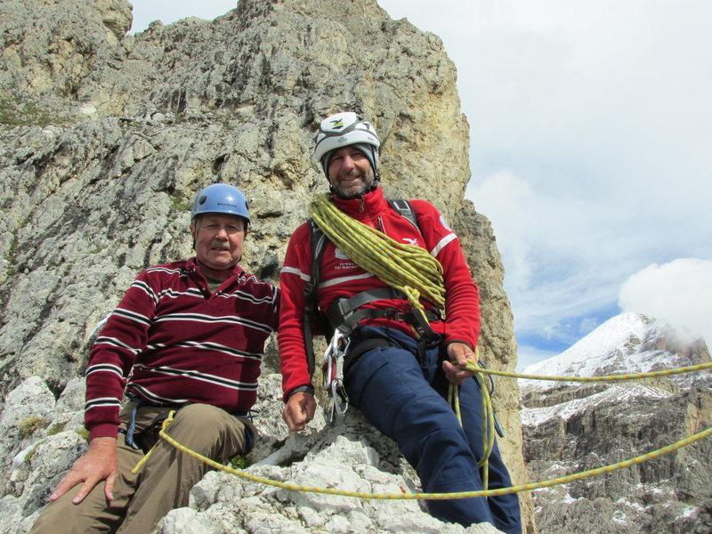 """Rock Climbing Photo: The mandatory """"summit shot."""""""