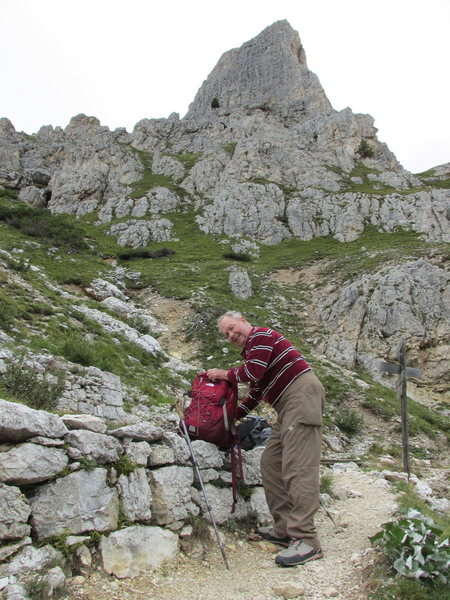 Rock Climbing Photo: Ready to trudge back to the car, find a restaurant...