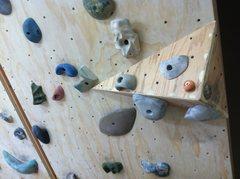 Rock Climbing Photo: Wooden volume