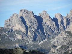 Rock Climbing Photo: Kleine Fermeda in good light for resolution of rou...