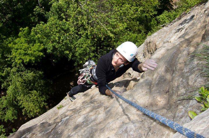 Rock Climbing Photo: Following in the Gunks