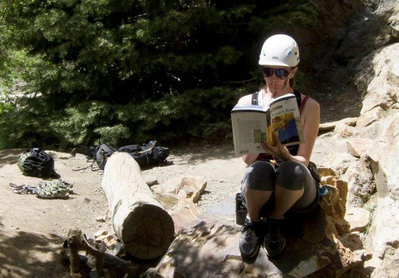 Rock Climbing Photo: Edjumicating myself