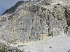 Rock Climbing Photo: Kleiner Lagazuoi, Left Side. Home to Via del Buco.
