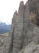 Rock Climbing Photo: Torre Seconda, Cinque Torri. L-> Torre Lusy, To...