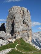 Rock Climbing Photo: Torre Grande, W. Summit, Cinque Torri.