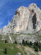Rock Climbing Photo: First Sella Tower, West face.