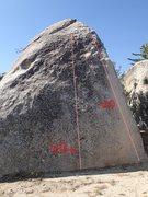 Rock Climbing Photo: Elephant Man climbs.