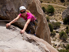 Rock Climbing Photo: The finishing moves of the sweet corner of Diamond...