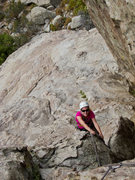 Rock Climbing Photo: Juggy love on the 4th pitch of Big Time