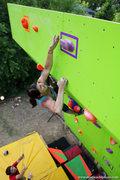 Rock Climbing Photo: So close....