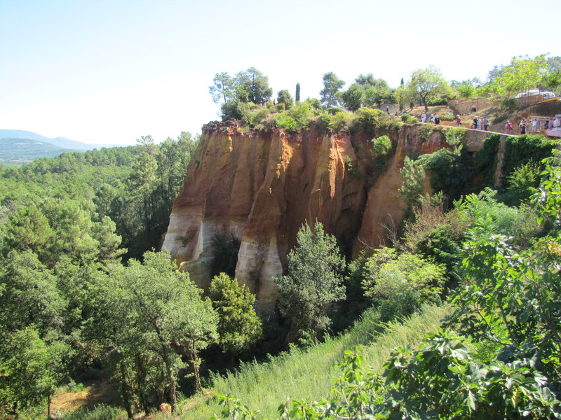 "Rock Climbing Photo: Roussillon is one of the ""100 most beautiful ..."
