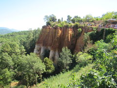 """Rock Climbing Photo: Roussillon is one of the """"100 most beautiful ..."""