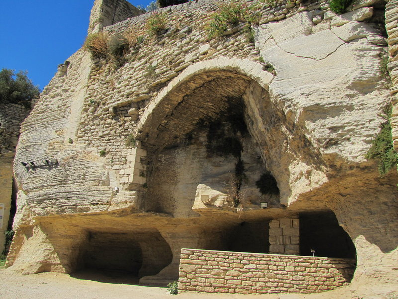 Rock Climbing Photo: Gordes also has some neat stuff to see and is also...