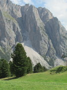 "Rock Climbing Photo: Torre Firenze, Stevia Plateau. The ""Glueck Ka..."