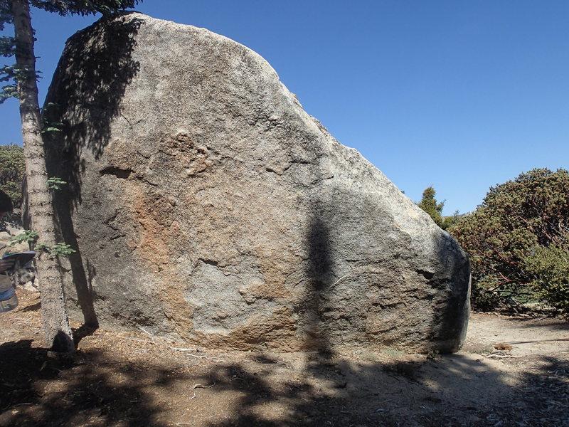 Cilley's boulder