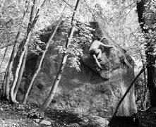Rock Climbing Photo: A study in balance.