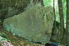 Rock Climbing Photo: Smear Tactics follows the left fin.