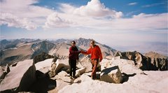 Rock Climbing Photo: Tim & Joe, on car to car ascent of the East Face R...