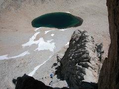 Rock Climbing Photo: east buttress iceberg lake