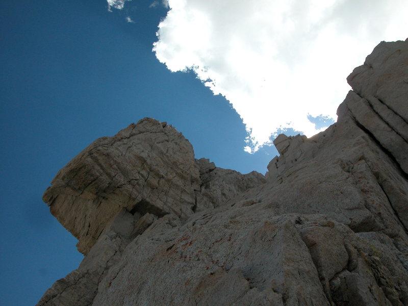 Rock Climbing Photo: the pee wee