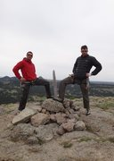 Rock Climbing Photo: Summit of Devil's Tower