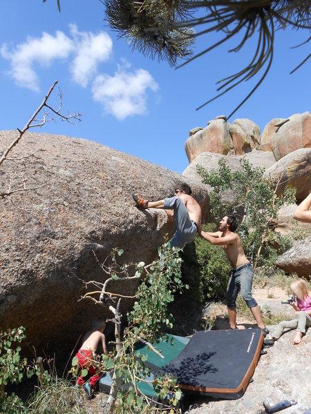 Rock Climbing Photo: Vedauvoo Bouldering