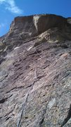 Looking up the fourth pitch
