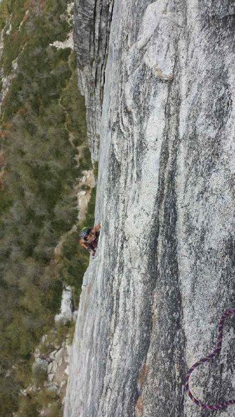Rock Climbing Photo: Follow ing