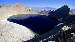 Rock Climbing Photo: Tulainyo Lake from near Mt Russell.