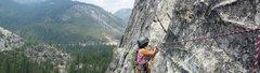 Rock Climbing Photo: Leap2