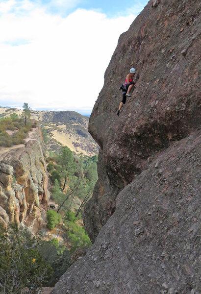 Rock Climbing Photo: The 5.9.