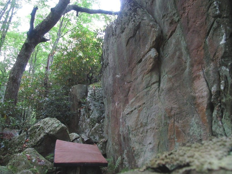 Rock Climbing Photo: The Golden Shield