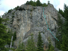 Rock Climbing Photo: borrowed photo shows Oyster Dome from the base. Th...