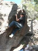 Rock Climbing Photo: Anthony Lugo on Little Rascal Left