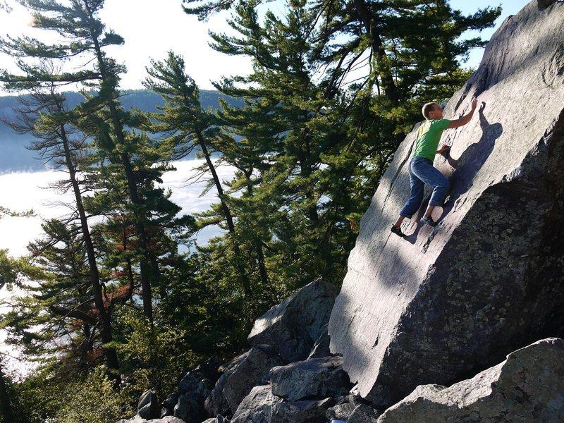 Rock Climbing Photo: Yeah.  Photo Peter B