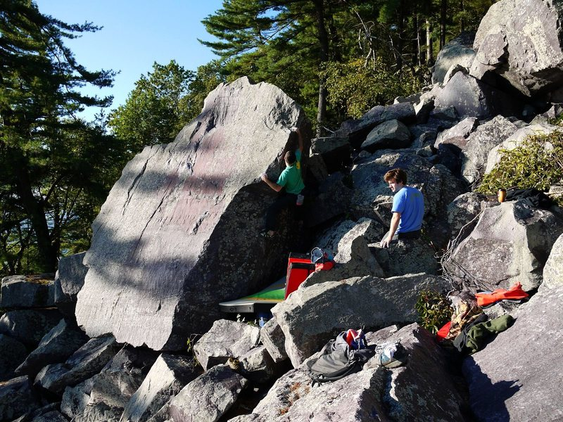 Rock Climbing Photo: Ian on RTL