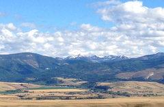 Hyalite Peak.