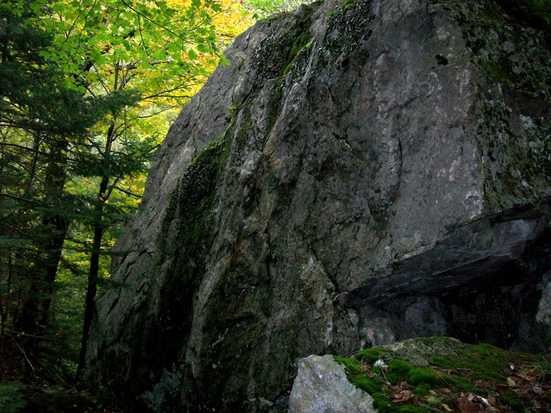 Rock Climbing Photo: This is the side you will see when coming up the t...