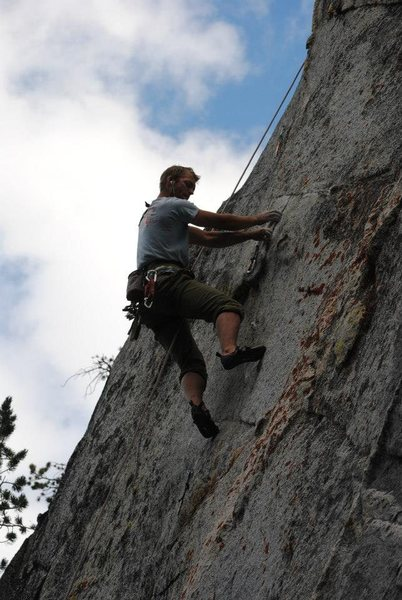 Checking out the crux