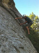 Rock Climbing Photo: 2nd bolt