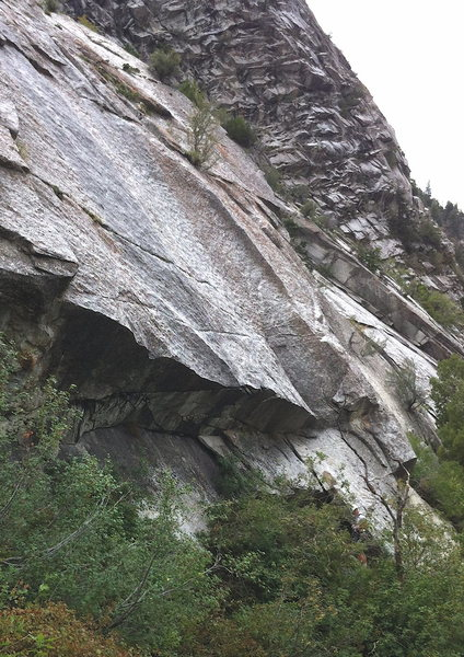 "Rock Climbing Photo: ""Commitment East Slabs."" To Legit To Com..."
