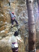 Rock Climbing Photo: gblauer, a bit further up the climb