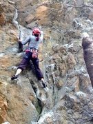 Rock Climbing Photo: Gblauer on Orange Sunshine