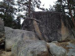 Rock Climbing Photo: Black Mountain Railroad