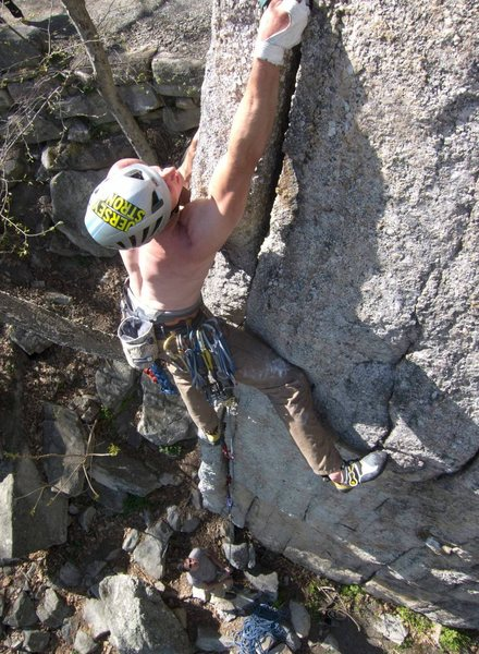 Rock Climbing Photo: Sonja. Gunks, NY