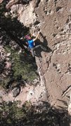 Rock Climbing Photo: Justin Colville on UFMCtMBaQ