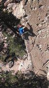 Rock Climbing Photo: Justin Colville on UFMCtMBaQ
